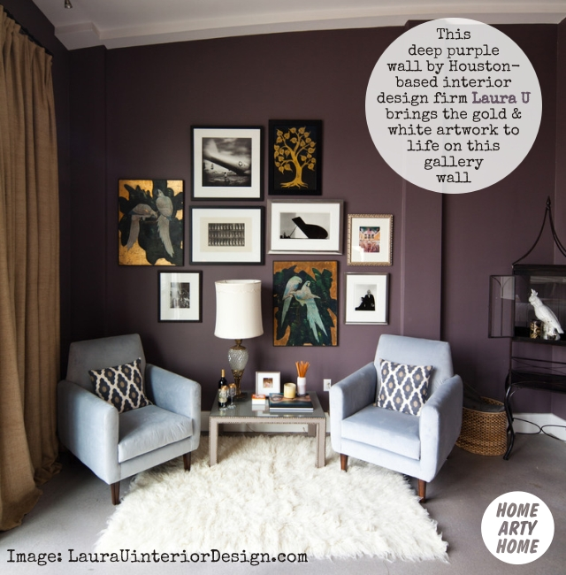Colour Gallery Walls homeartyhome laurauinteriordesign