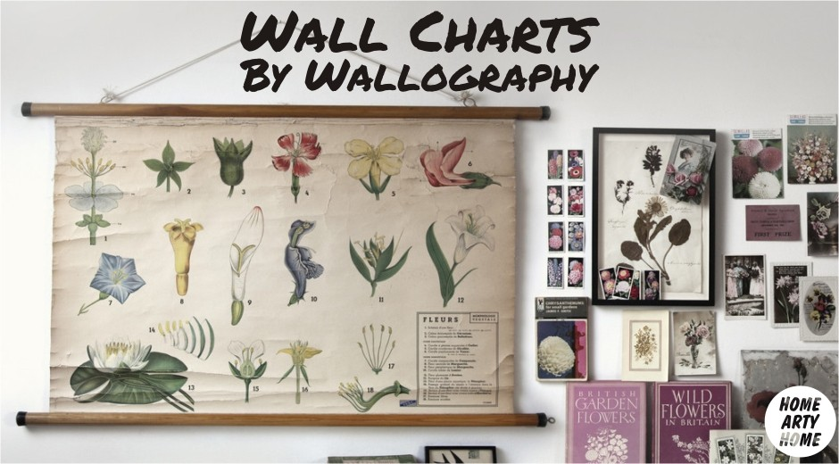 Wall Charts by Wallography homeartyhome