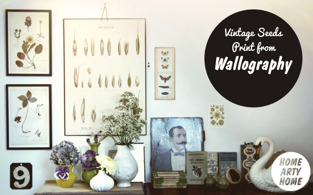 Wall Charts by Wallography homeartyhome vintage seeds
