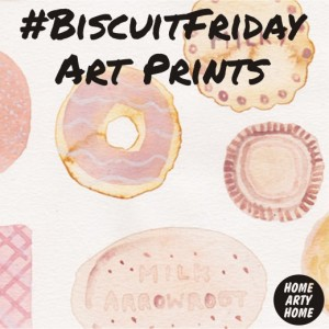 BiscuitFriday Art Prints homeartyhome