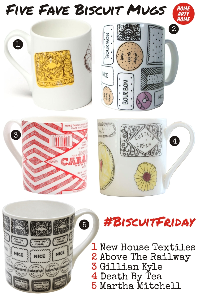 #BiscuitFriday Mugs homeartyhome