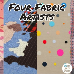 Four Fabric Artists homeartyhome