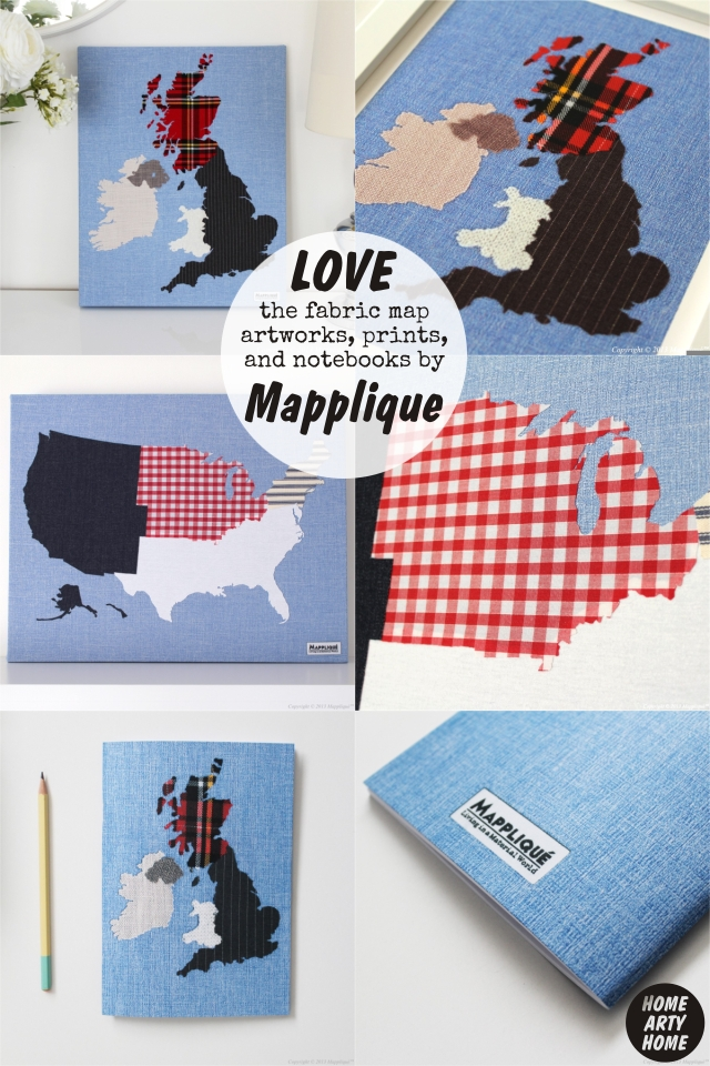 Four Fabric Artists homeartyhome MAPPLIQUE