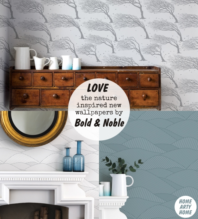 New Wallpapers from Bold & Noble Farrow & Ball and Mini Moderns homeartyhome boldandnoble1