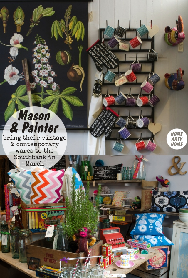Spring to the Southbank Centre Shops homeartyhome MASON and PAINTER