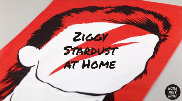 Ziggy Stardust at Home homeartyhome