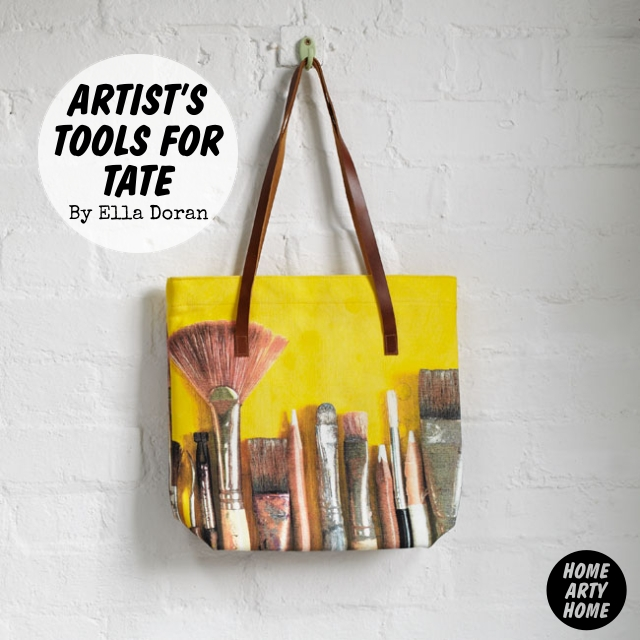 Artists Tools for Tate by Ella Doran homeartyhome