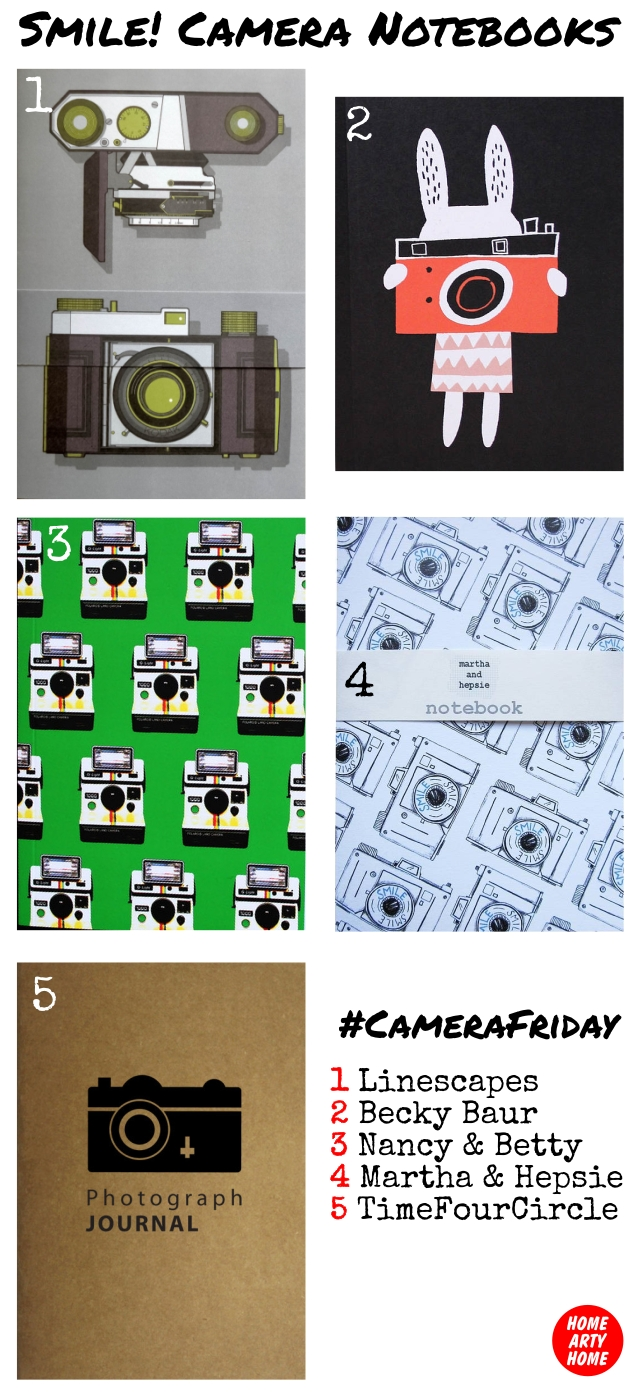 CameraFriday Notebooks homeartyhome