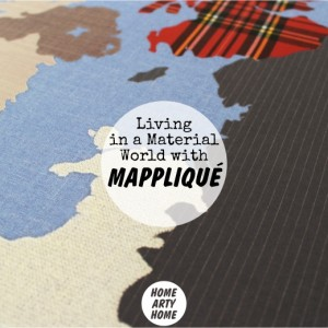 Living in a Material World with Mapplique homeartyhome