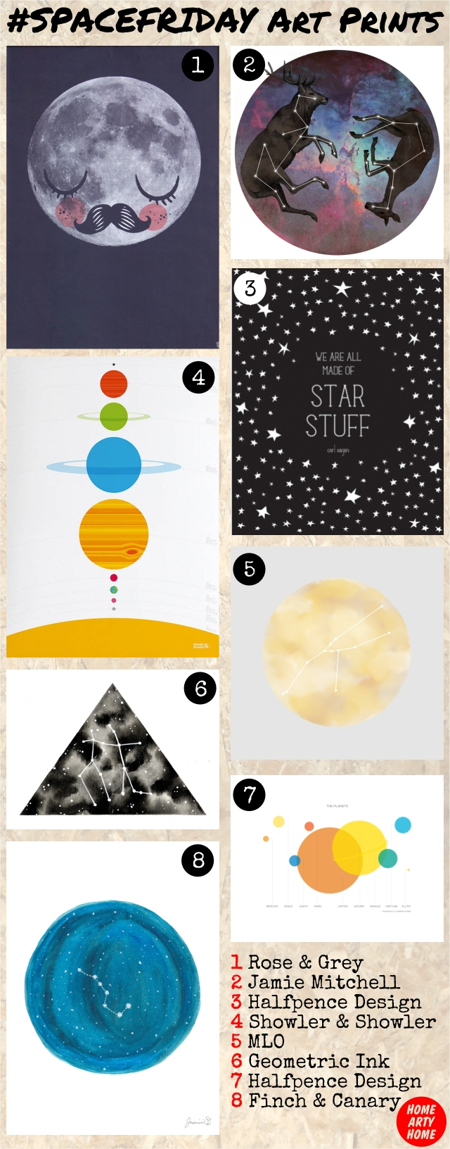 Space Friday Art Prints homeartyhome