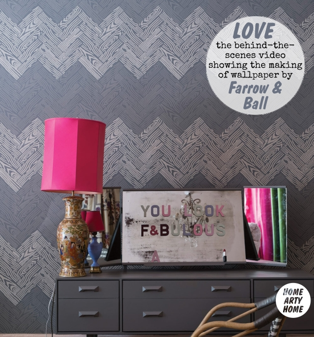 The Making of Farrow & Ball Wallpapers homeartyhome