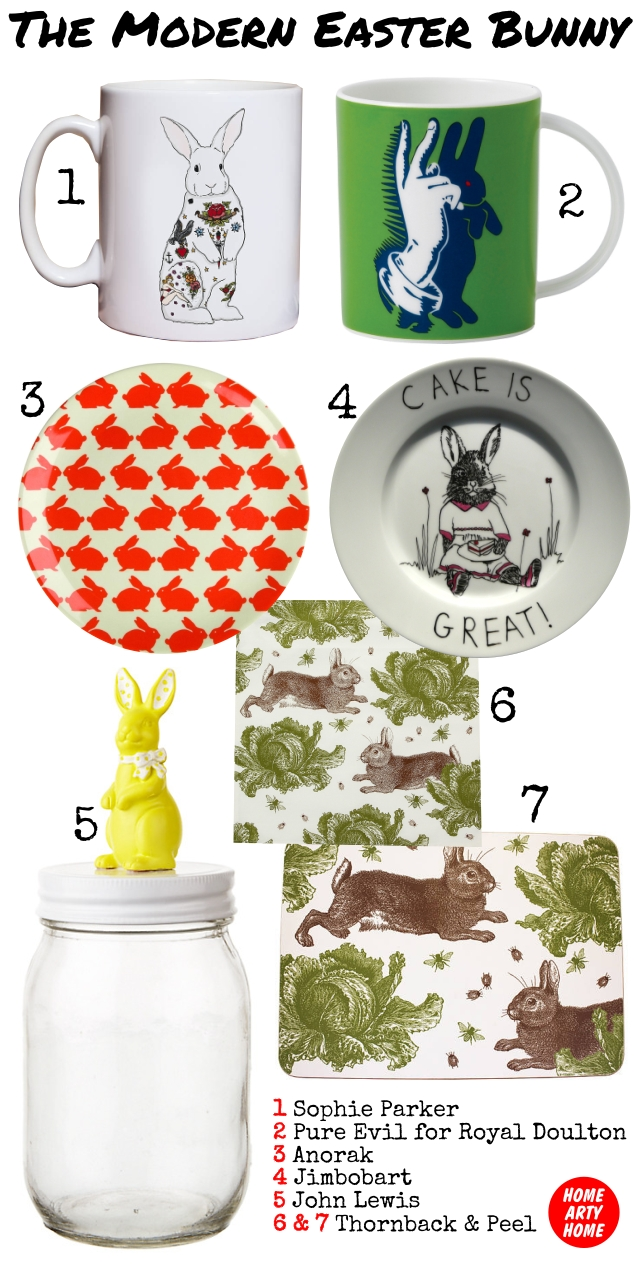 The Modern Easter Bunny homeartyhome