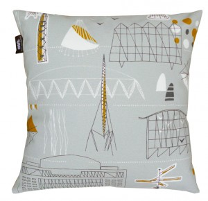Mini Moderns Daytripper Festival Fabric Cushion