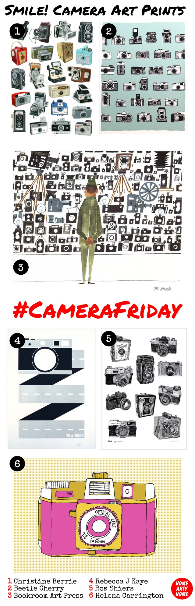 CameraFriday Art Prints homeartyhome