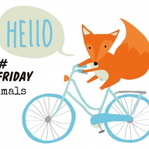 BikeFriday Animals Art Prints homeartyhome