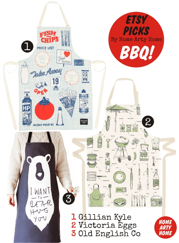 Etsy Picks APRONS homeartyhome