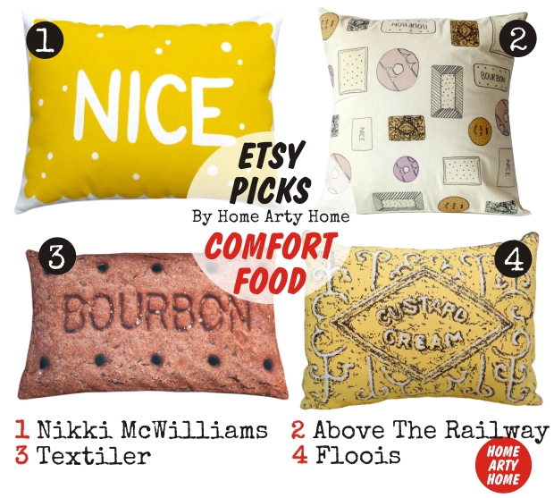Etsy Picks BISCUIT CUSHIONS homeartyhome