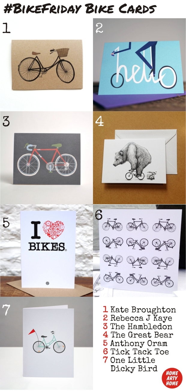 BikeFriday Bike Cards homeartyhome
