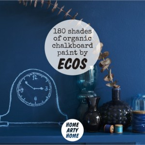 Ecos Organic Chalkboard Paints homeartyhome
