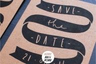 Artful Invites for Stylish Weddings