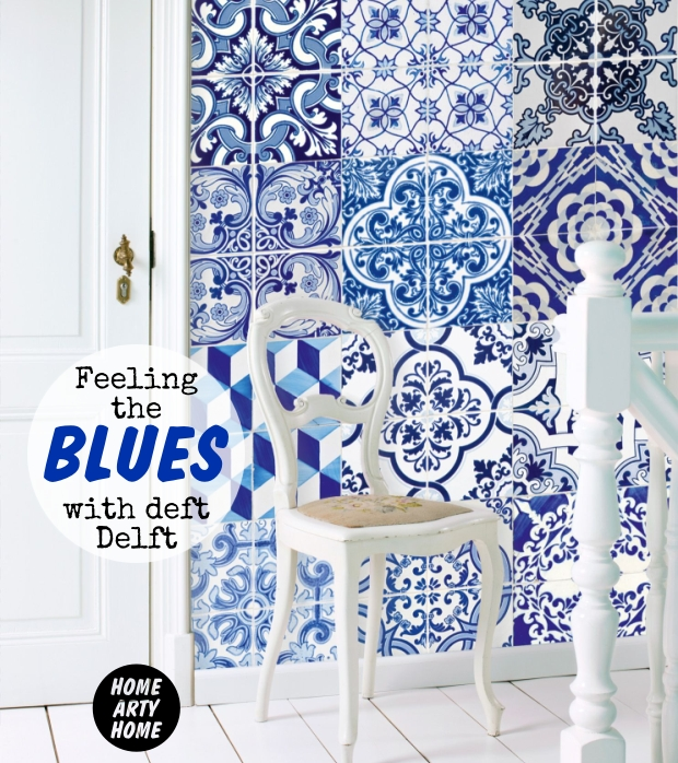 Feeling the blues with deft delft home arty home for Wallpaper esta home