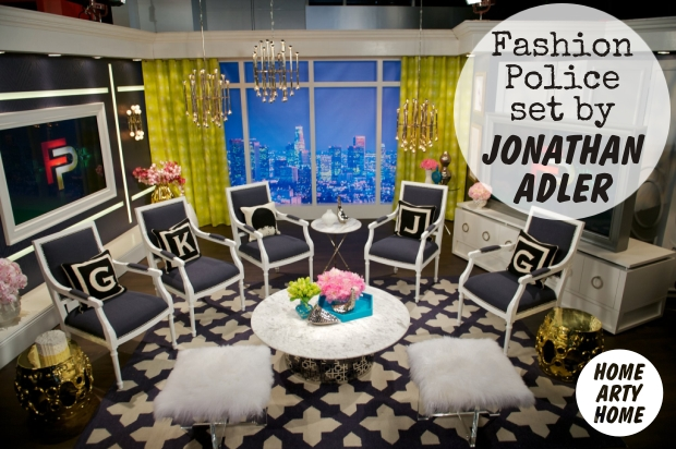 Fashion Police Set by Jonathan Adler