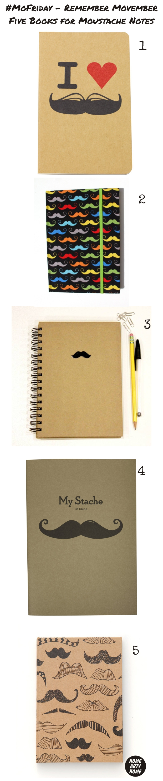 MoFriday Notebooks homeartyhome