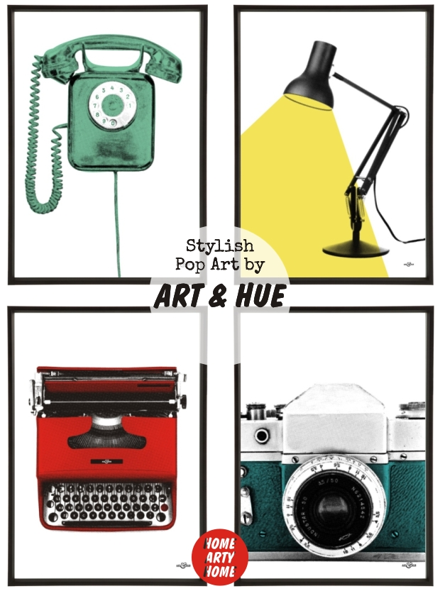 Art & Hue stylish pop art homeartyhome 2