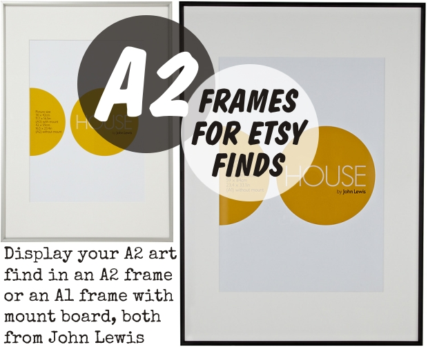 Frames for Etsy Finds homeartyhome a2 frames