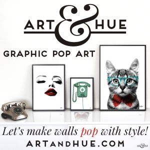 Art & Hue Graphic Pop Art