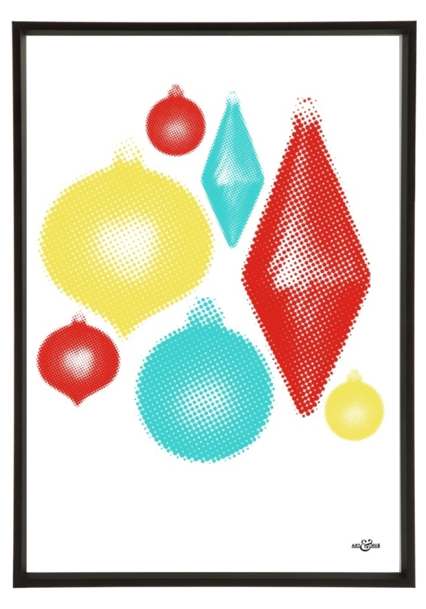 Xmas Prints baubles homeartyhome