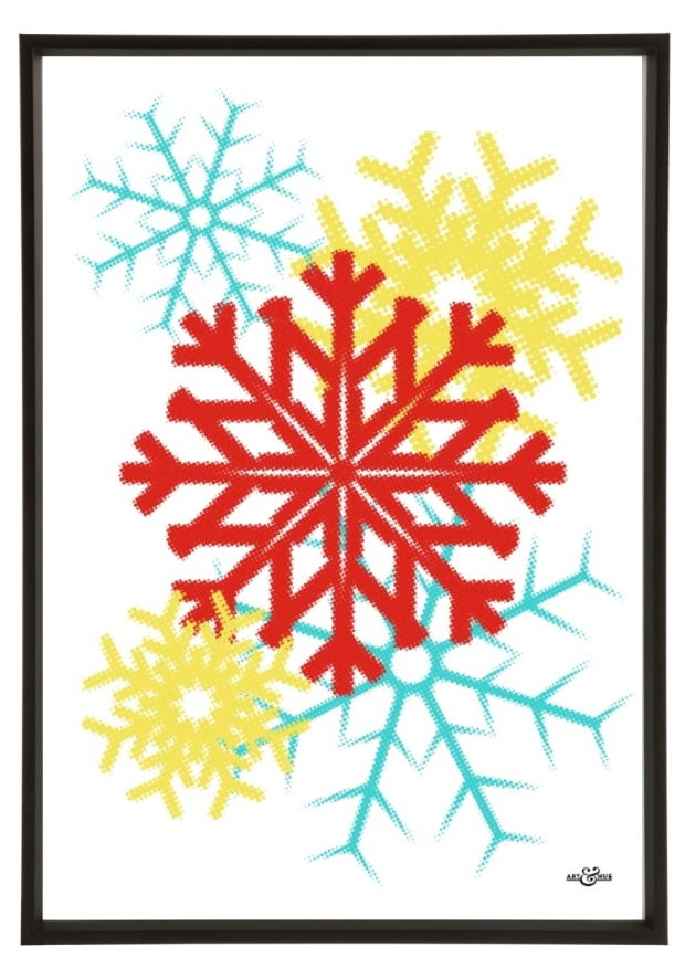 Xmas Prints snowflake homeartyhome
