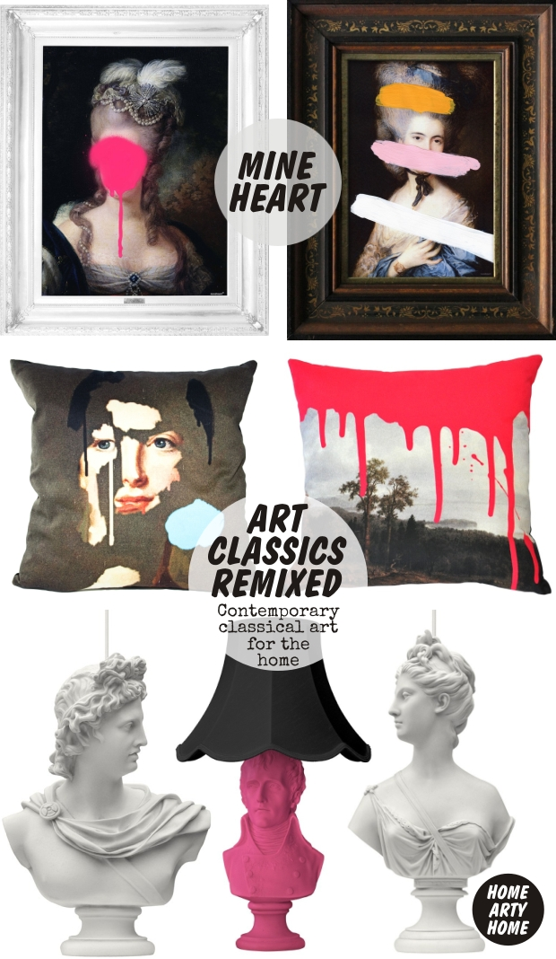 Art classics remixed by ibride mineheart art and hue homeartyhome 5