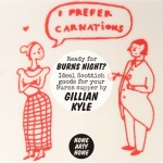 Ready for Burns Night? Scottish goods for your Burns supper by Gillian Kyle