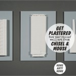 Get Plastered! New bas-relief wall art from Chisel & Mouse