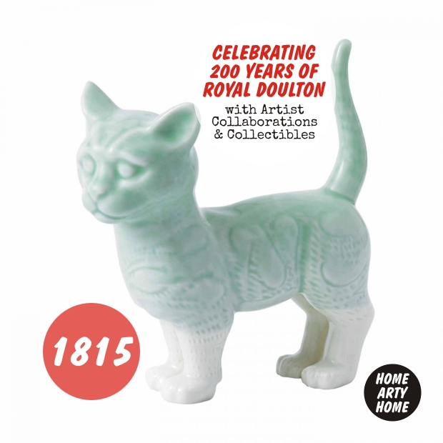 200 years of Royal Doulton homeartyhome 1815 cat