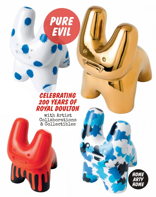 200 years of Royal Doulton homeartyhome pure evil bunnies