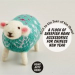 A Flock of Sheepish Home Accessories for Chinese New Year