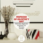 Proposing on Valentine's Day? Get the stylish tissues by Atissu ready!