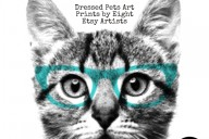 Dapper Dogs & Couture Cats – Dressed Pets Art Prints by Seven Etsy Artists