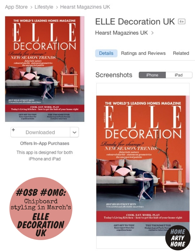 OSBOMG Chipboard in Elle Decoration homeartyhome 3