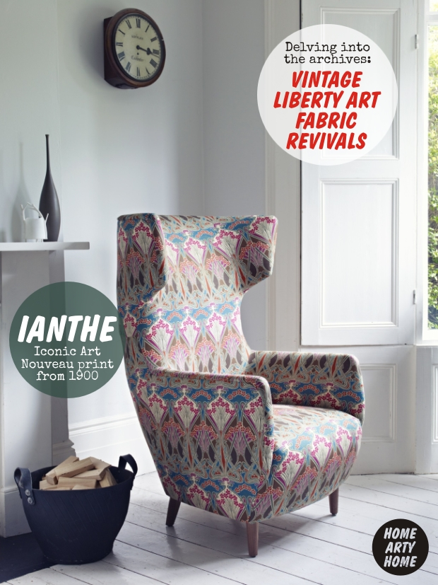 Vintage Liberty Art Fabric Revivals homeartyhome 1