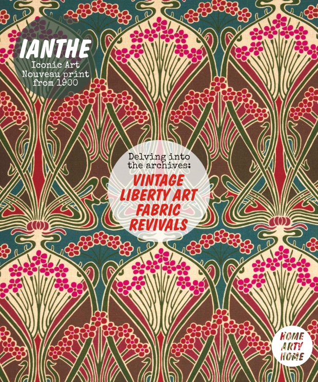 Vintage Liberty Art Fabric Revivals homeartyhome Ianthe