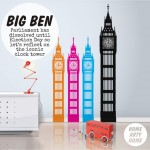 Big Ben Art – Eight Artists take on the Iconic Clock Tower of Parliament