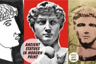 Ancient Statues in Modern Print