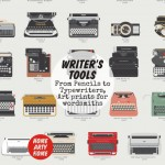 Writer's Tools – From pencils to typewriters, Home Arty Home's pick of 11 art prints for wordsmiths