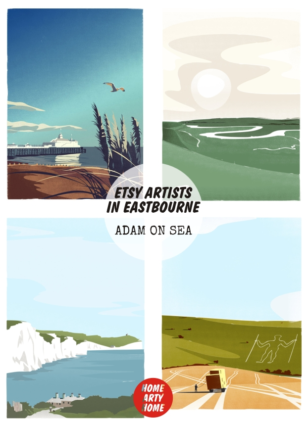 Eastbourne_Etsy_Artists_homeartyhome Adam on Sea
