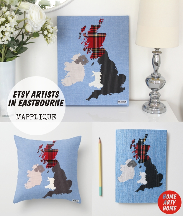 Eastbourne_Etsy_Artists_homeartyhome Mapplique