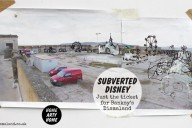 Subverted Disney – Just the Ticket for Banksys Dismaland