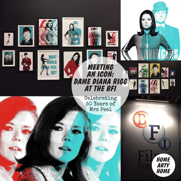 Diana Rigg at the BFI homeartyhome2